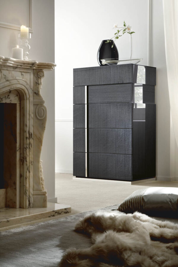 Modern 5pc ALF Monte Carlo Bedroom Collection High Gloss