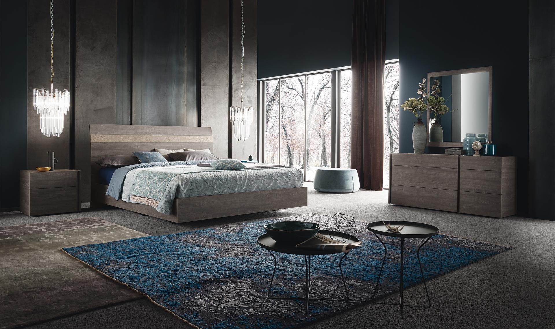 ALF Nizza Bedroom Collection Grey Eco Veneer Matte Finish