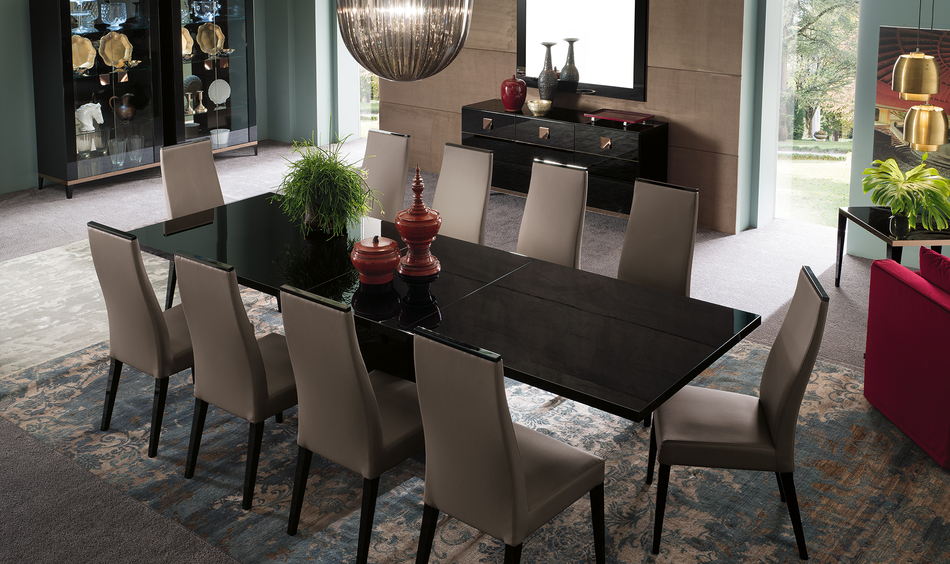Alf Mont Noir Dining Collection.