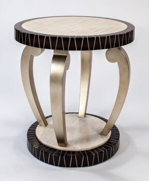 Artmax 36in Champagne Foyer Table