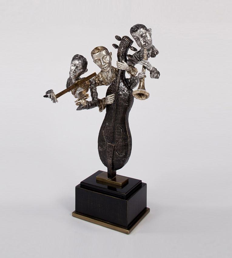 Modern Blues Bros Sculpture