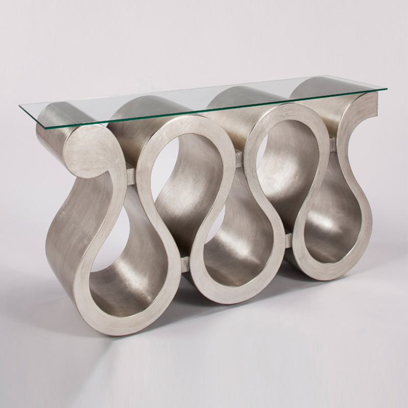 Silverleaf Console Table