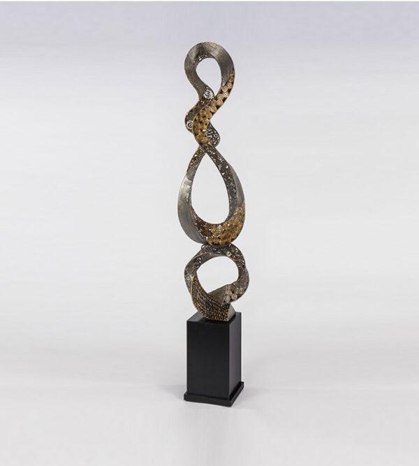 Embellished Loops Floor Sculpture