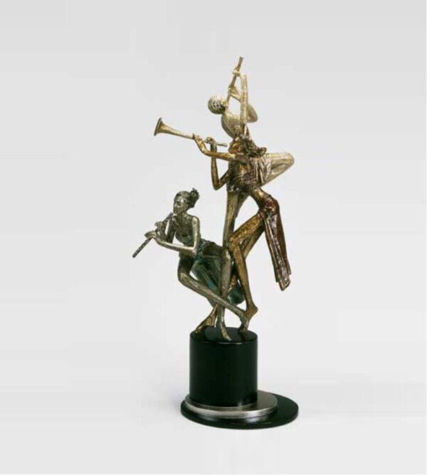 Artmax Modern Keeping the Rhythm Musicians Sculpture