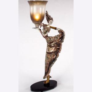 Artmax modern woman table lamp