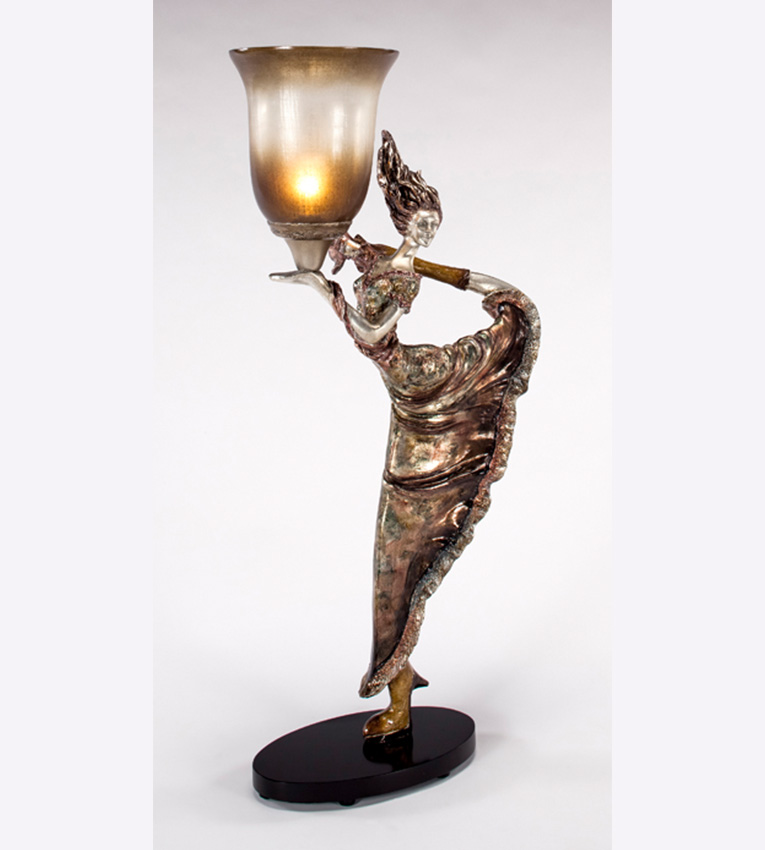 Artmax modern woman table lamp