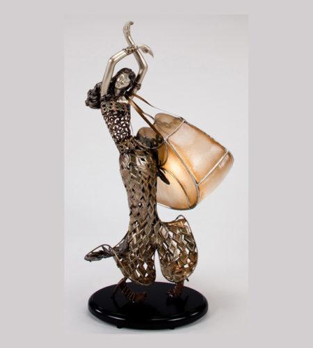 Artmax modern table lamp sculpture