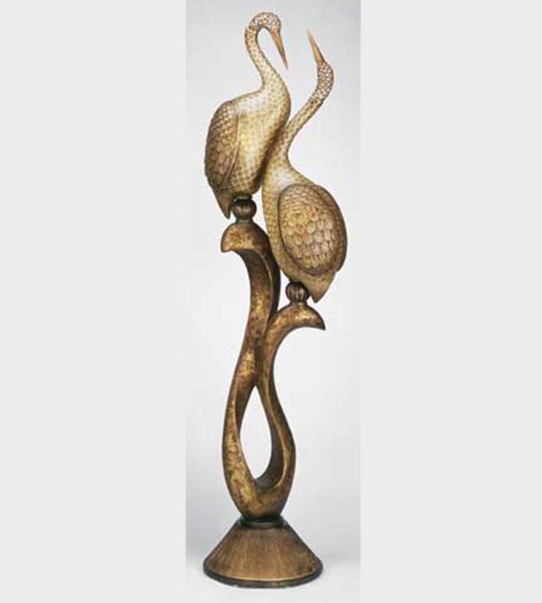 Artmax twin bird floor lamp sculpture unique furniture belly of the birds aloadofball Choice Image