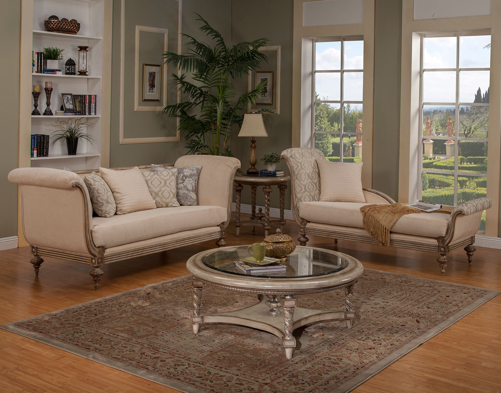 Milerige Living Room 2pc Collection