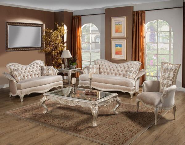Perlita Living Room 4pc Collection