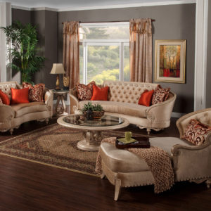 Rosabella Living Room 5pc Collection