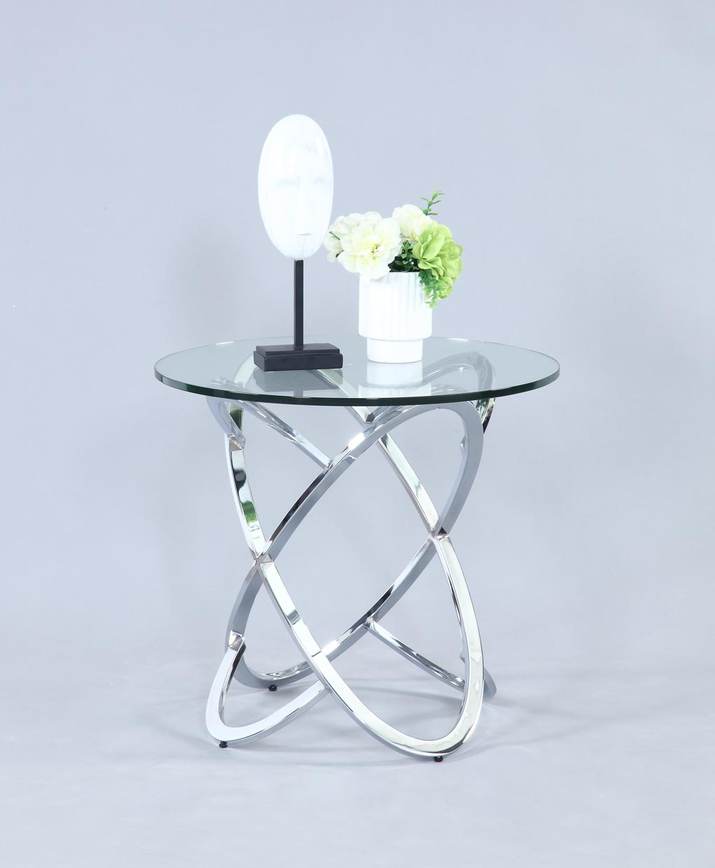 Link Chrome End Table