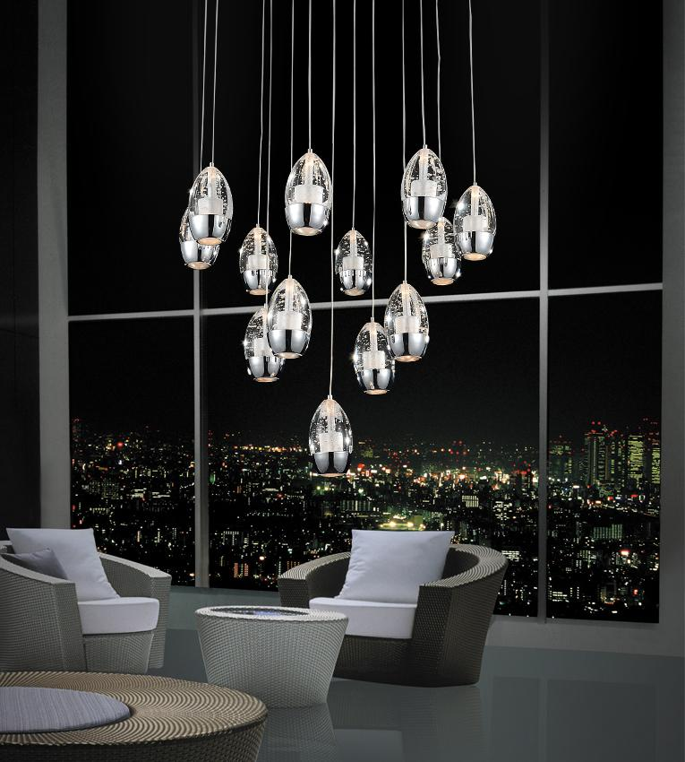Perrier Collection 13 Light Pendant
