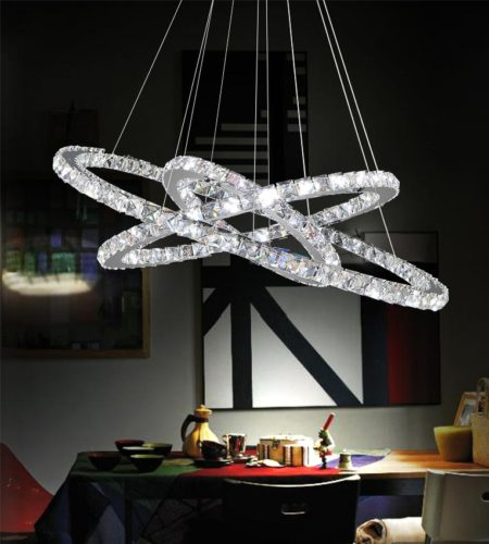 Crystal World LED Ring Collection