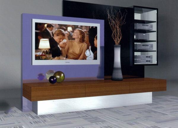 Custom Design Acrylic Media Center