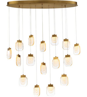 Eurofase 14 Inch Paget LED Chandelier