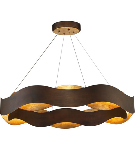 Eurofase LED Bronze Chandelier