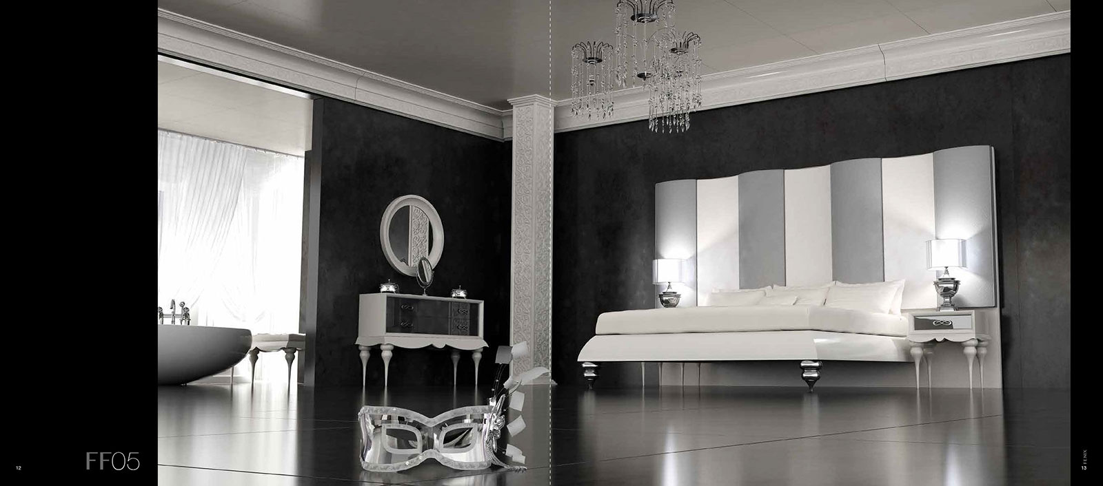 Franco Furniture Fenix Ff05 Bedroom Collection