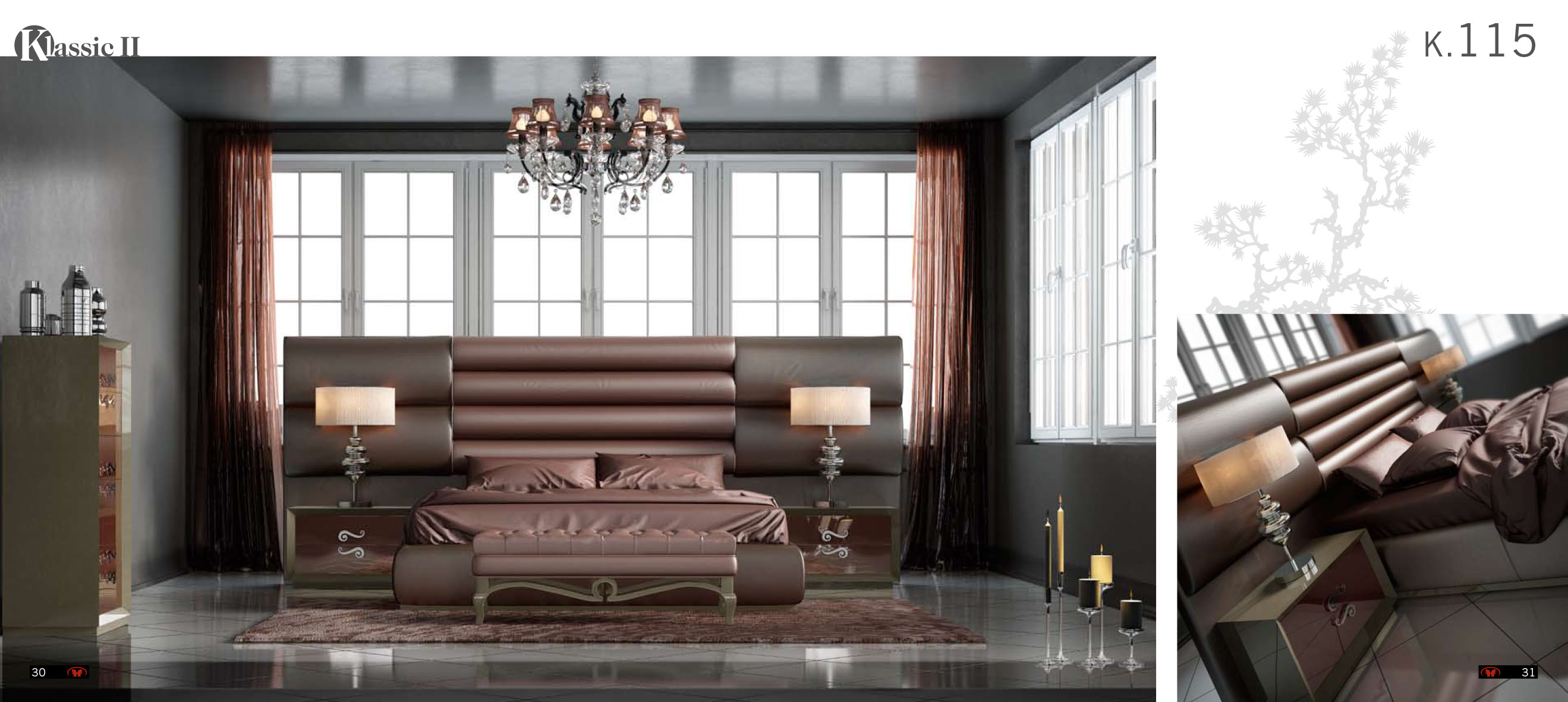 Franco Furniture K115 Bedroom Collection