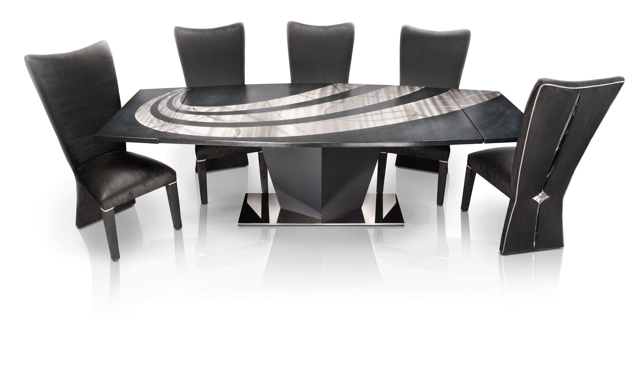 Oios Metals Custom Design Metal Rectangle Table Unique