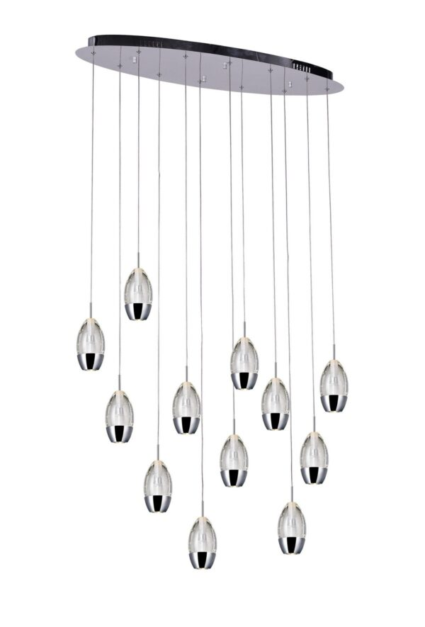 Perrier Collection 12 Light Pendant