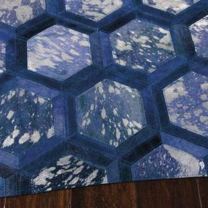 City Chic Rug Cobalt