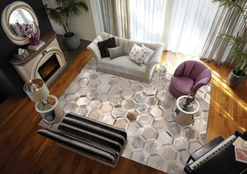City Chic Rug Silver