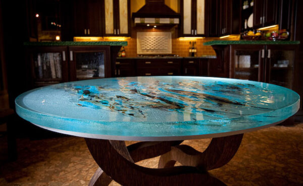 ThinkGlass Round Table