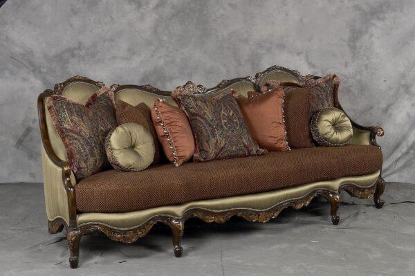 Benettis Italia Glamorous Abriana Living Room 5pc Collection