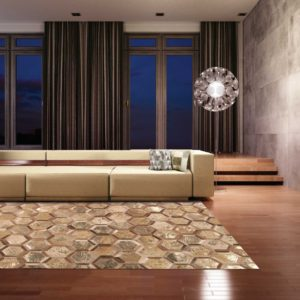 City Chic Rug Amber Gold