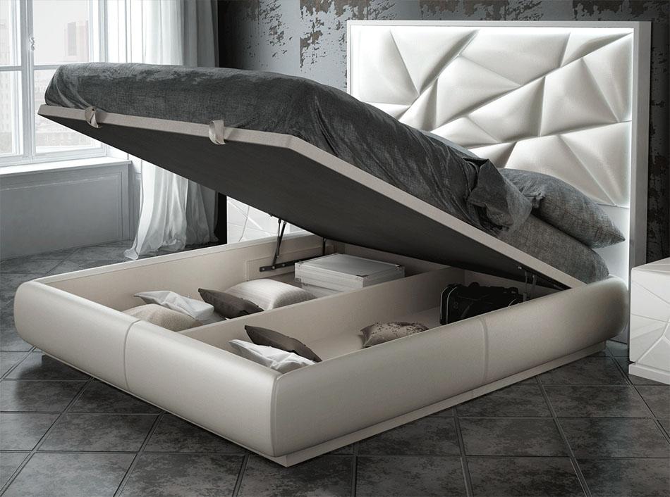 Modern 5pc Futuristic Kiu Bedroom Set Unique Furniture
