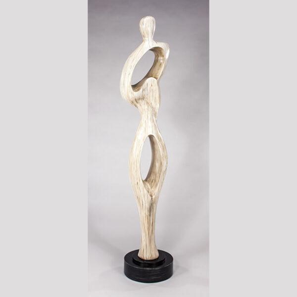 Abstract Figure Floor Sculpture
