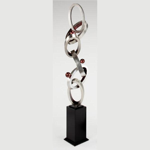 Artmax Modern Linkage Floor Sculpture