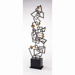Artmax Modern Quadrilateral Floor Sculpture