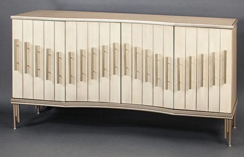 Creamy Console Cabinet