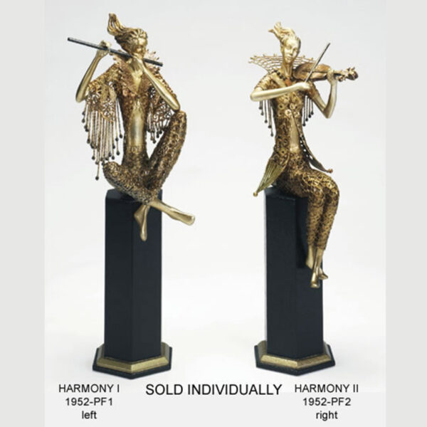 Harmony Flutist Sculpture