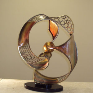 Modern Celestial Table Sculpture