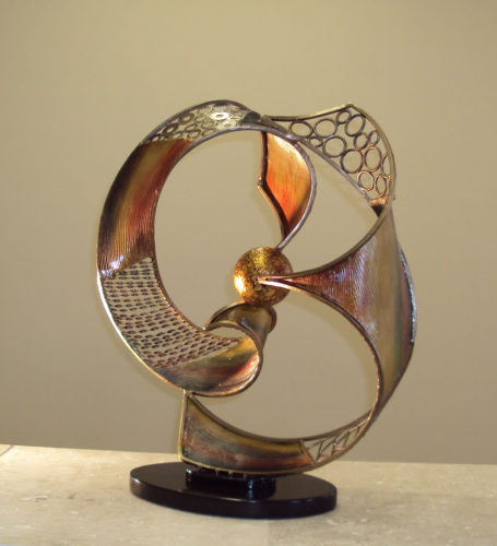 Modern Celestial Table Sculpture
