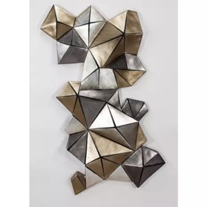 Artmax 3D Shapes Wall Sculpture