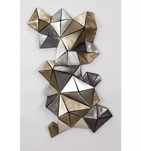Artmax 3D Shapes Wall Sculpture