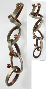Modern Artmax 3-D Wall Sculpture