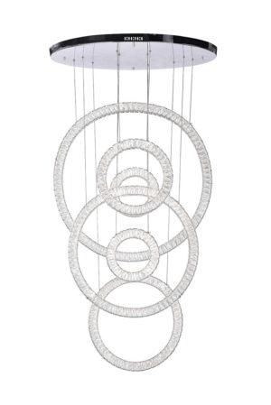 Rings LED Chandelier