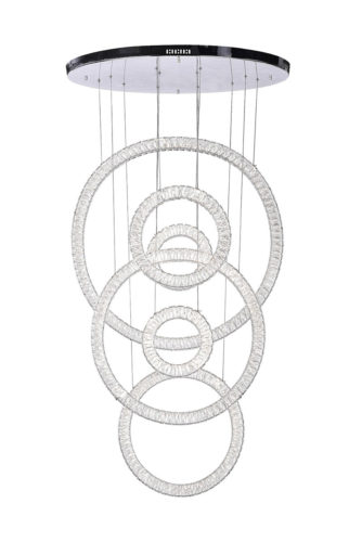 Rings LED Chandelier