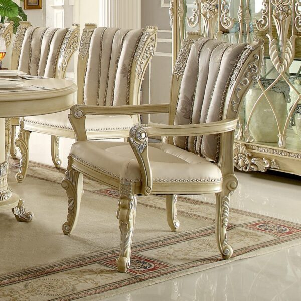 Glamorous Newberry 9pc Dining Set