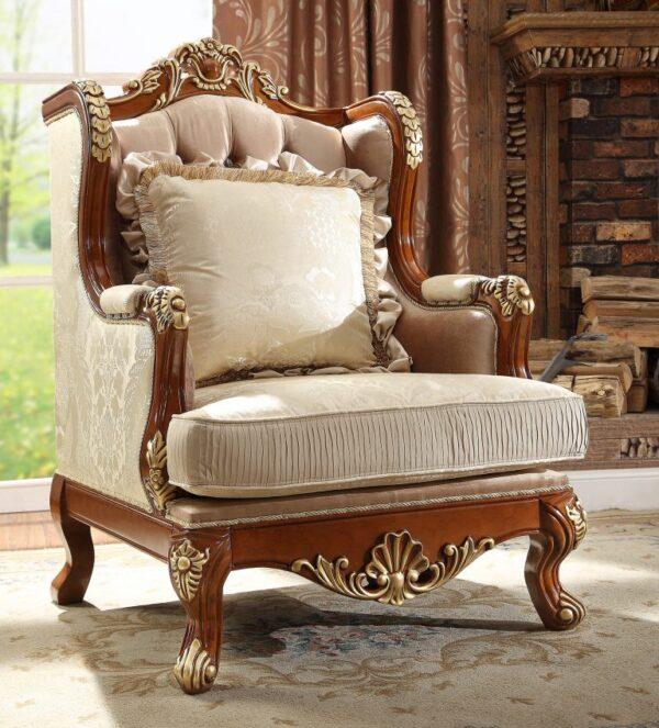 Luxurious Ant Light 3pc Sofa Set