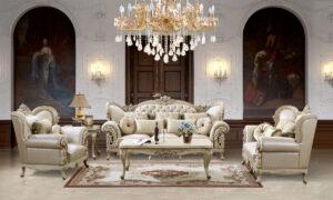 Luxurious Leather 3pc Sofa Set