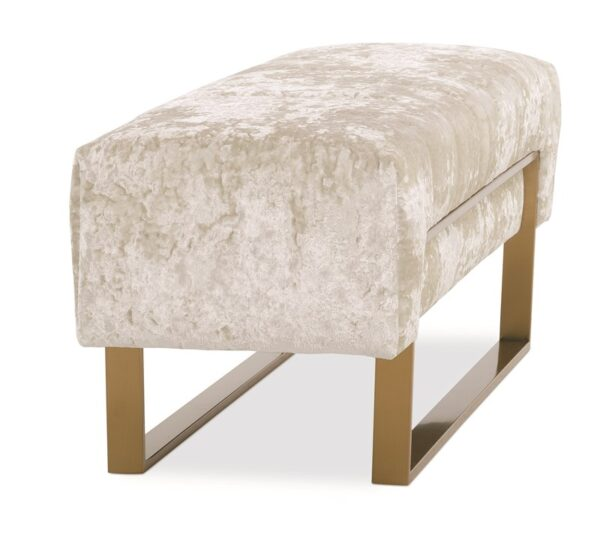 Approach The Bench Ottoman