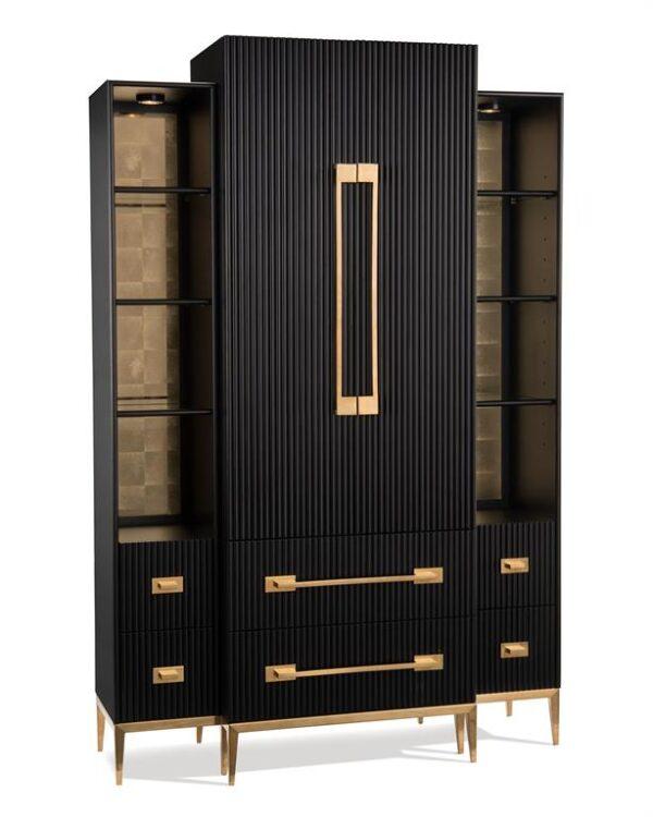 Black Satin Cabinet