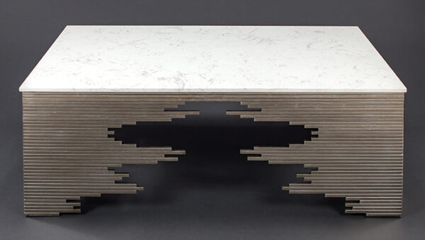 Artmax 54in Marble Coffee Table
