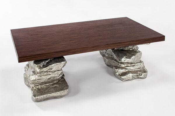Artmax 55in Resin Coffee Table